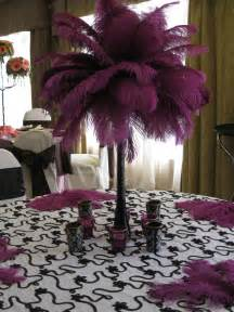 Cheap Feathers For Centerpieces by Blue And Purple Centerpieces For Sweet 16 Purple Ostrich