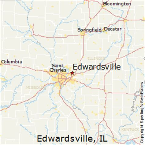 best places to live in edwardsville illinois