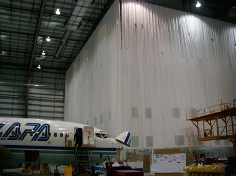 airplane curtains aircraft curtains partitions hangar curtains aero