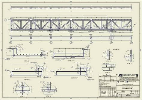 structure drawing steel structure infinity engineering and consultant