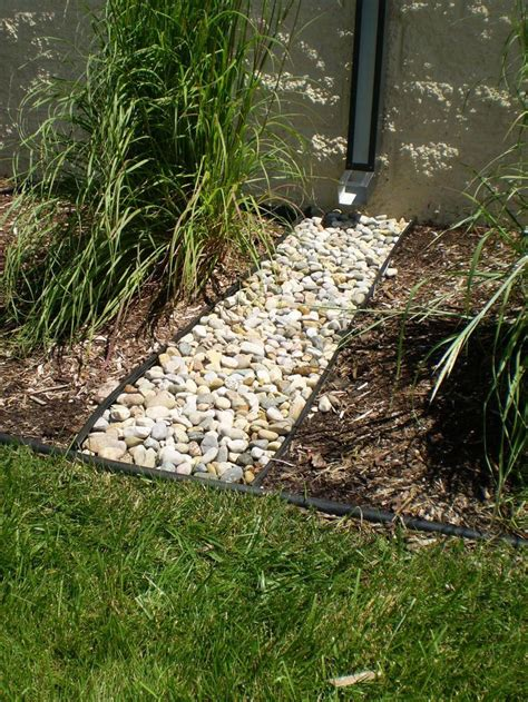Landscape Edging To Divert Water 18 Best Images About Downspout Ideas On Garden