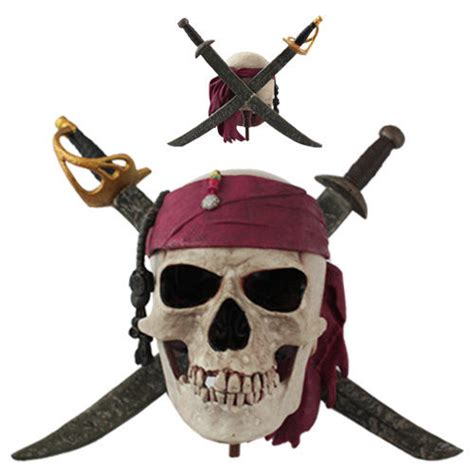 disney pirates of the caribbean pirates skull logo with