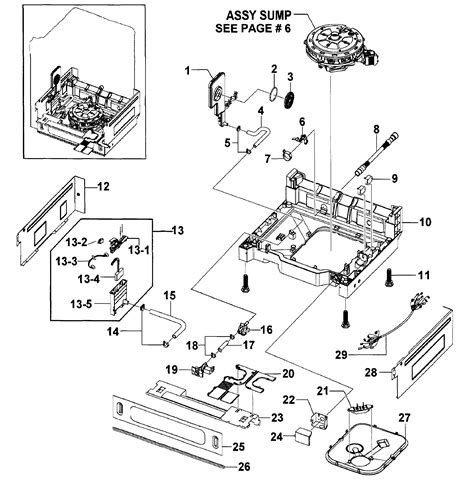samsung parts base assy diagram parts list for model dmr57lfsxaa0000 samsung parts dishwasher parts