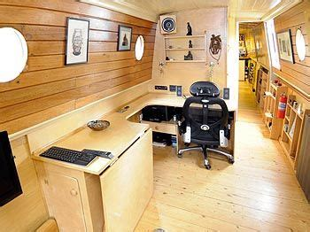 the boat office office space boats canal boats and barges interiors