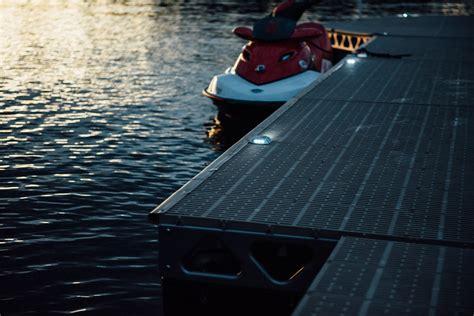solar led dock lights solar dock light canadadocks