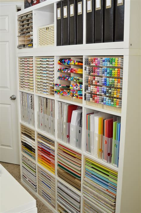 Craft Room Paper Storage - jeanne s paper crafts an update and a re