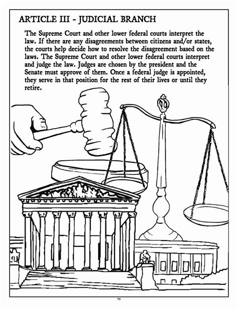 coloring pages for us constitution constitution colouring pages