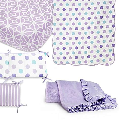 Mix And Match Crib Bedding Cocalo 174 Mix Match Violet Crib Bedding Collection Bed Bath Beyond