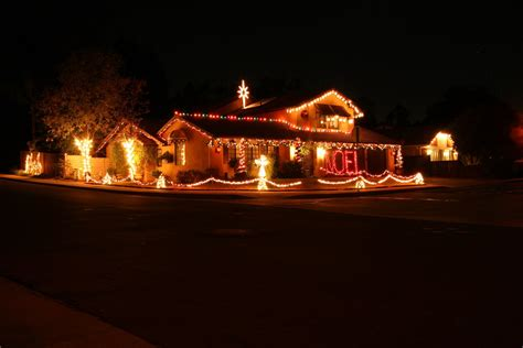 awesome large outdoor christmas decorations with colorful