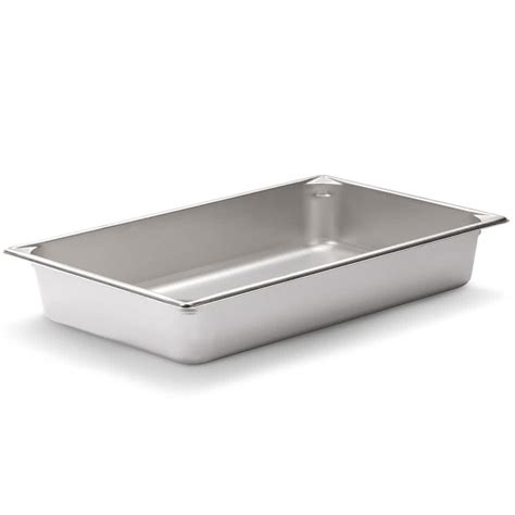 vollrath pan v 30022 size anti jam stainless