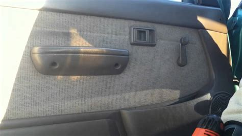 How To Take Interior Door Panel by Toyota Tacoma Door Panel Removal