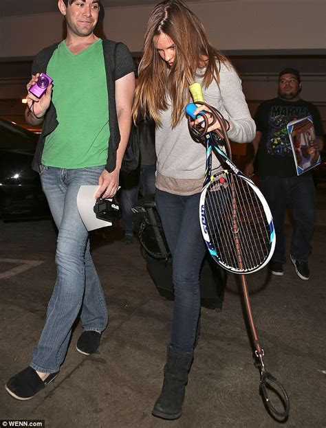 Hilary Runs Into Joel by Hilary Swank Has As She Jets Into Lax With