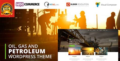 Petroleum Oil Gas And Chemical Wordpress Theme By Mymoun Themeforest Gas Station Website Template
