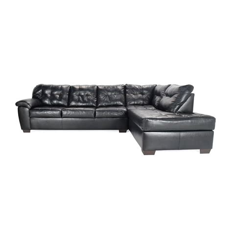 black faux leather sectional 76 off beverly furniture beverly furniture red faux