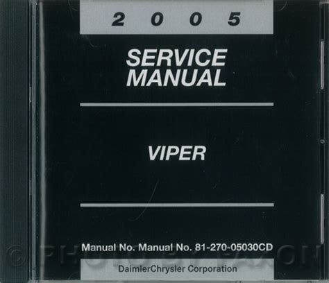 car repair manuals online free 2005 dodge viper on board diagnostic system 2005 dodge viper srt 10 owner s manual original