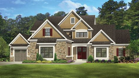 Two Story Bungalow House Plans by New American Home Plans New American Home Designs From