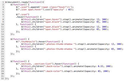 pattern exles in javascript web design chester website development full design