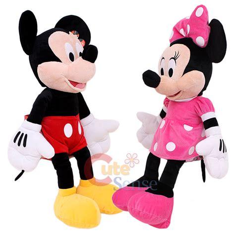Boneka Micky Mouseminnie Mouse Jumbo disney mickey and minnie mouse plush doll jumbo size 26