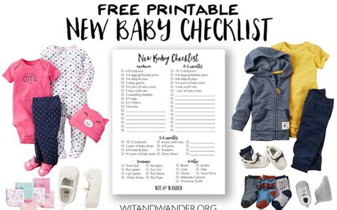 my parentimes printable checklists 9 babys layette the 25 best new baby checklist ideas on pinterest baby