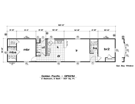 fleetwood mobile home plans inspirational 1999 fleetwood mobile home floor plan new