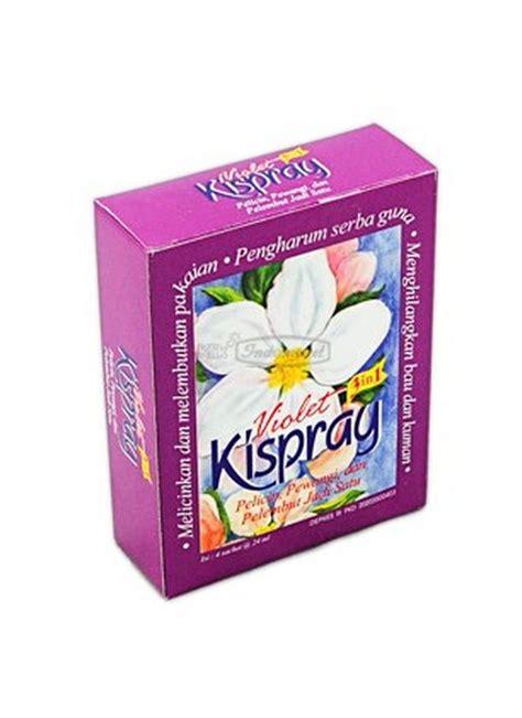 Kispray Violet kispray pelicin pakaian violet box 4x21ml klikindomaret
