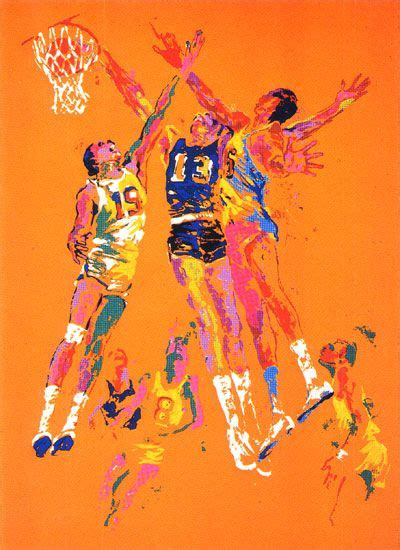 basketball pop art paintings basketball leroy neiman leroyneiman leroy neiman