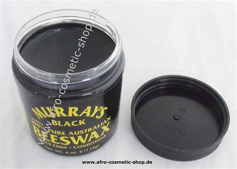 Murrays Pomade Black Beeswax murray s black beeswax 4 oz afro cosmetic shop