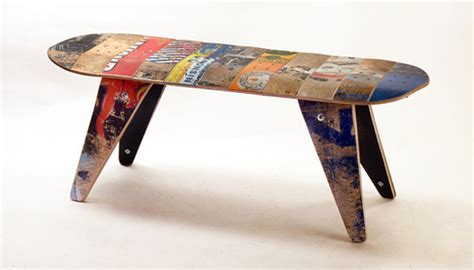 skateboard chairs cool and masculine skateboard furniture chair seating
