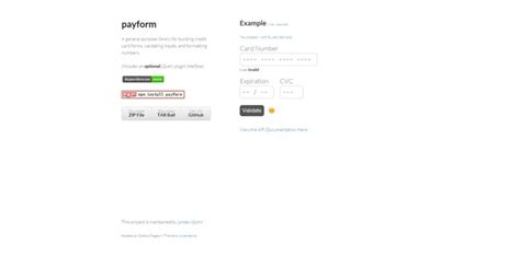 Credit Card Number Format Jquery Best Jquery Form Plugins You Should Use Jqueryhouse