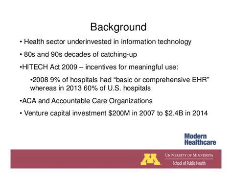 Of Minnesota Mph Mba by July 2015 Accountable Care Webinar