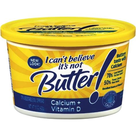 i can t believe it s not butter spread calcium vitamin