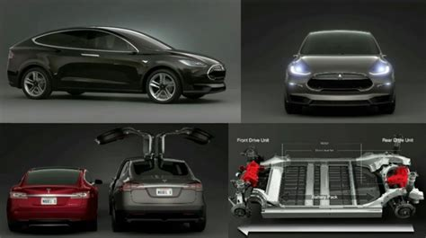 tesla ground clearance telsa model x winged doors and higher ground clearance