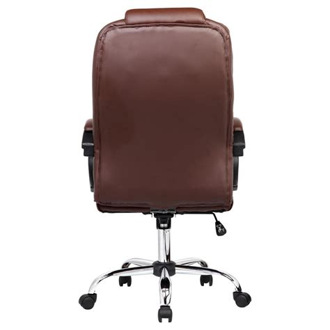 brown leather executive desk santana brown high back executive office chair leather