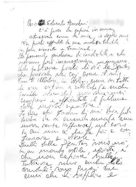 lettera testo le lettere spedite dal giudice d amico
