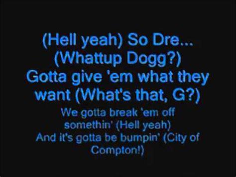 sweet lyrics in hindsight snoop dogg nuthin but a g thang k pop lyrics song