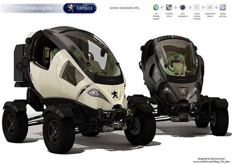 peugeot atv future transportation peugeot capsule electric atv
