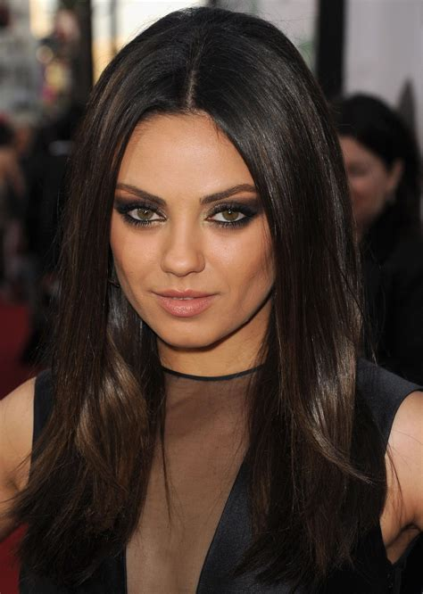 mila kunis hair color mila kunis black hair color