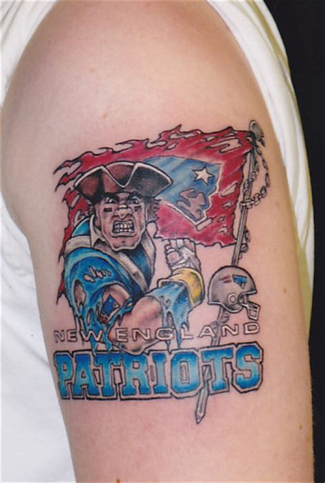 new england patriots tattoos daily photo arts patriots