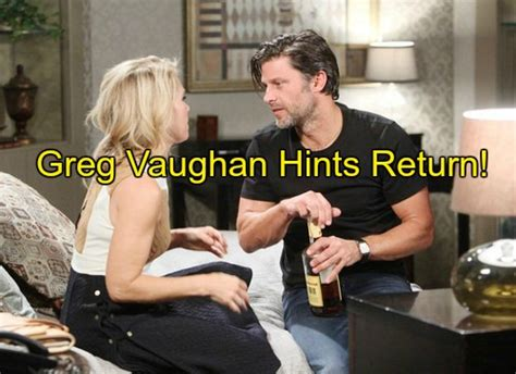 days of our lives greg vaughan eric and arianne zucker nicole days of our lives dool spoilers greg vaughan opens up