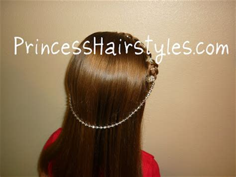 princess hairstyles braided headband with jewels halloween hairstyles princess braided headband with