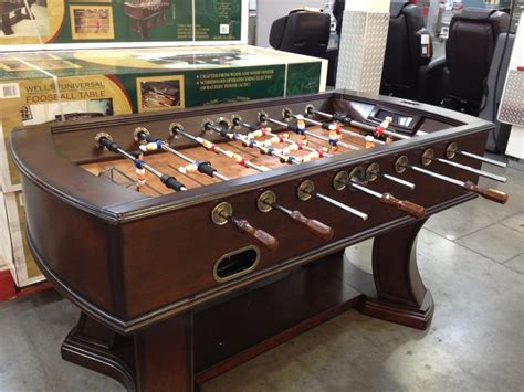 vintage foosball table costco foosball table with electronic scoring 450 at costco