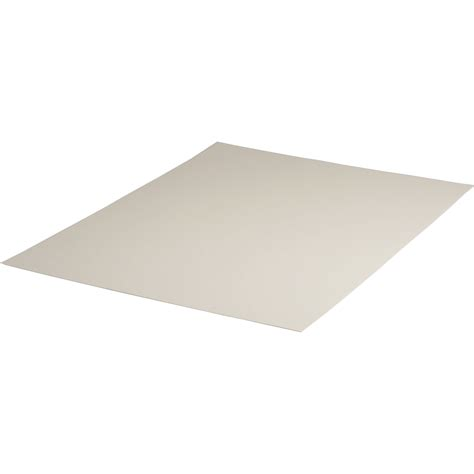 8 Ply Mat Board by Archival Methods 2 Ply Pearl White Conservation Mat Board