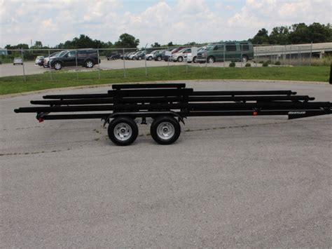pontoon boat trailer specifications 2017 hustler pontoon trailers tritoons for sale in