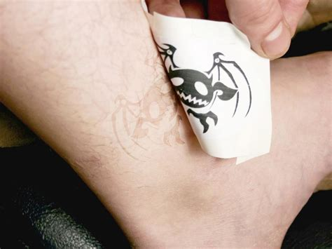 how do you know if your tattoo is infected 28 how to make removable tattoos make your own