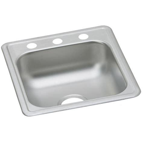 Dayton Bar Sink by Elkay All In One Drop In Stainless Steel 15 In 2
