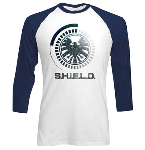 Raglan Superheroes 18 Ordinal Apparel marvel comics s raglan baseball s h i e l d symbol for only c 18 90 at