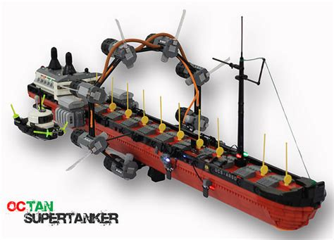 lego tanker boat really quite a super tanker the brothers brick the