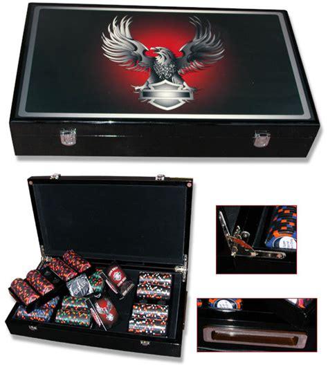 Harley Davidson Chip Set by Harley Davidson Eagle 400 Casino Chip Set Ebay