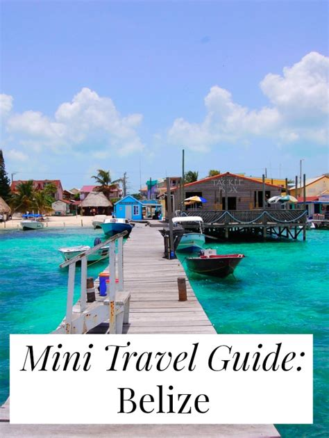 belize the official travel guide books mini travel guide belize