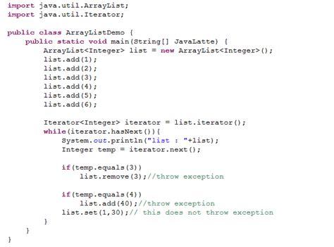 tutorial java array java latte how copyonwritearraylist works internally in java